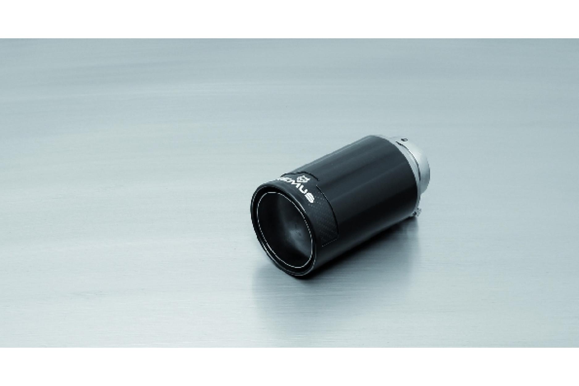 Remus 0006 98CB 1 Endrohr Ø 98 mm, Street Race Black Chrome