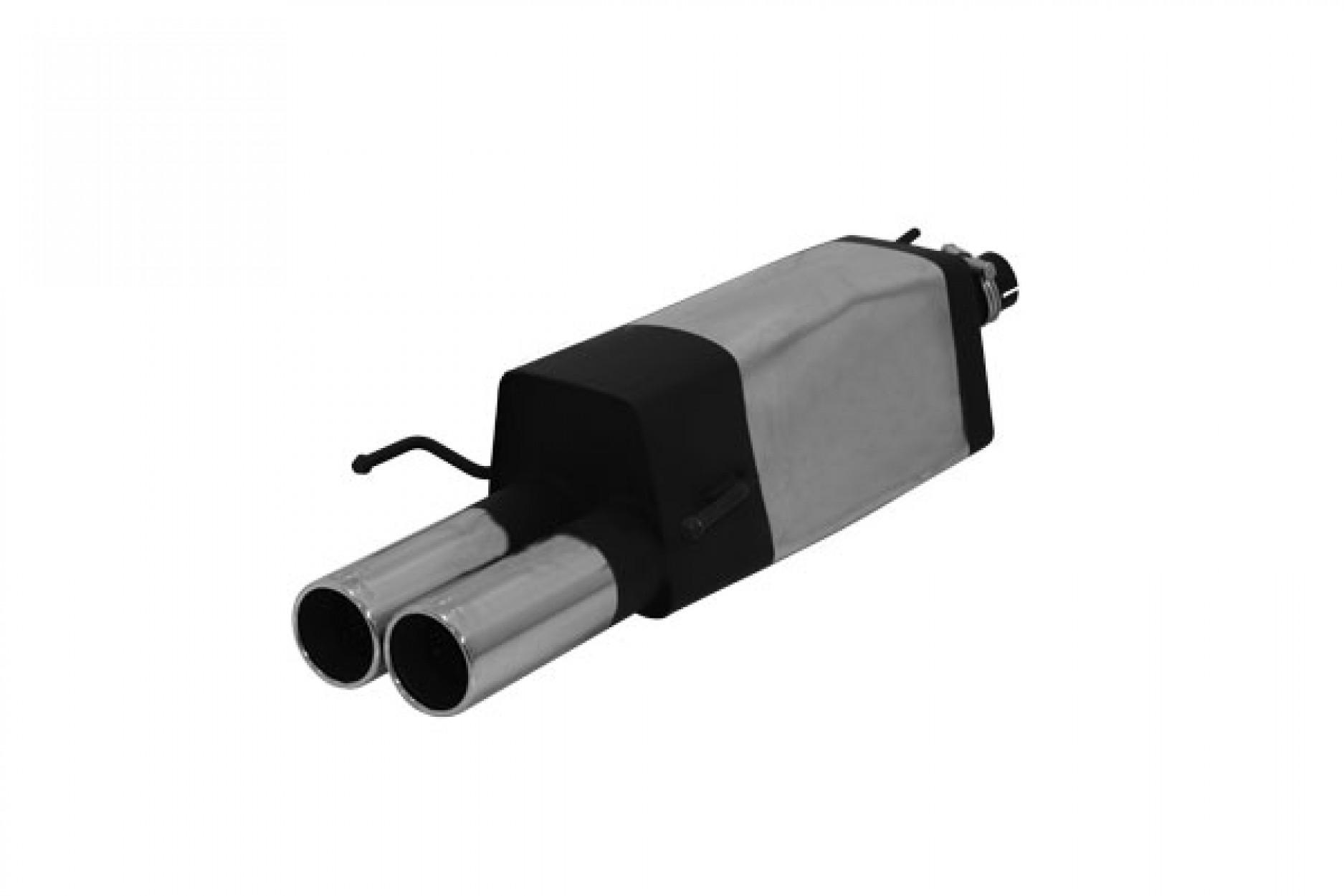 Remus Sportschalldämpfer mit 2 Endrohren Ø90 mm