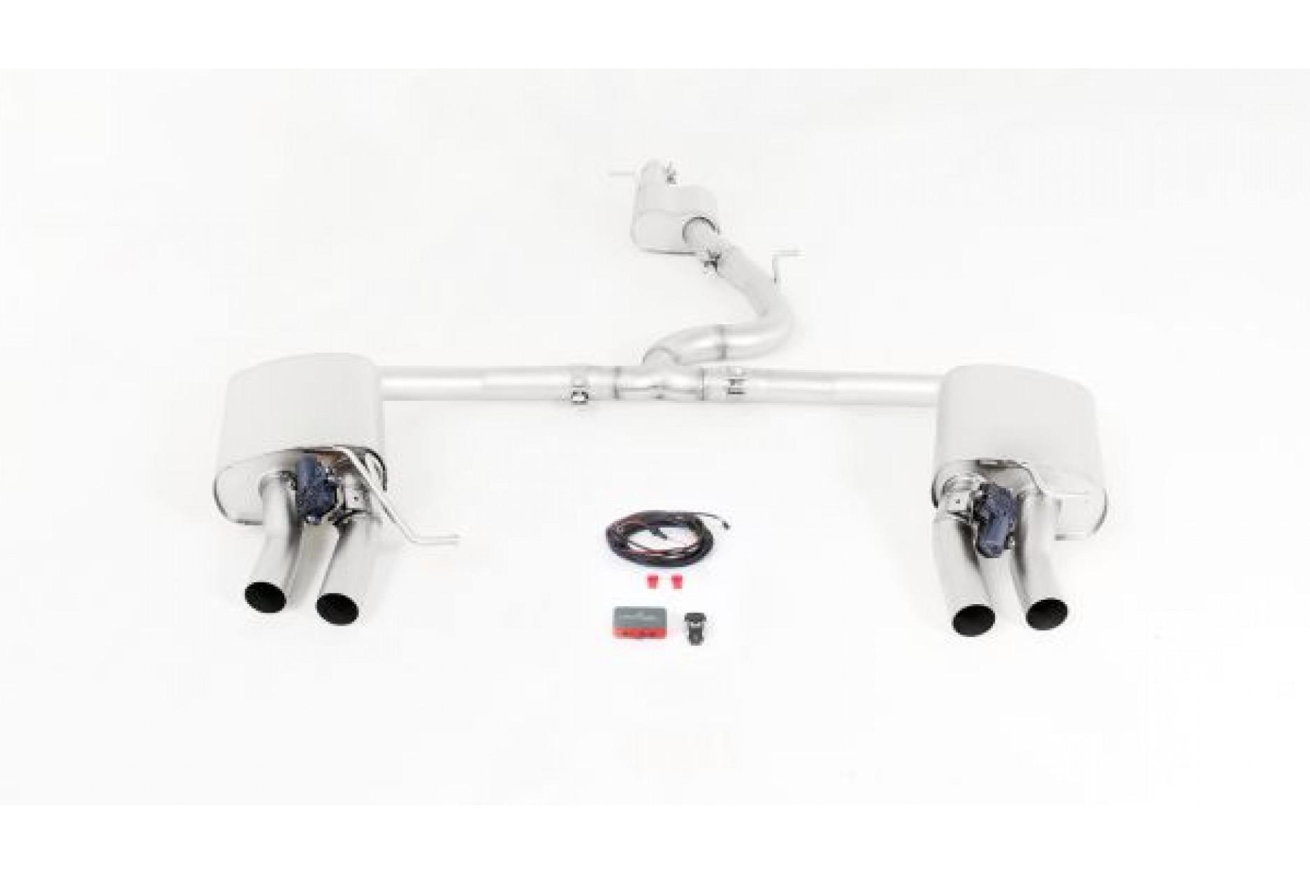 Remus 956015 0500LR RACING Cat-Back-Anlage ohne Genehming (ER separat)