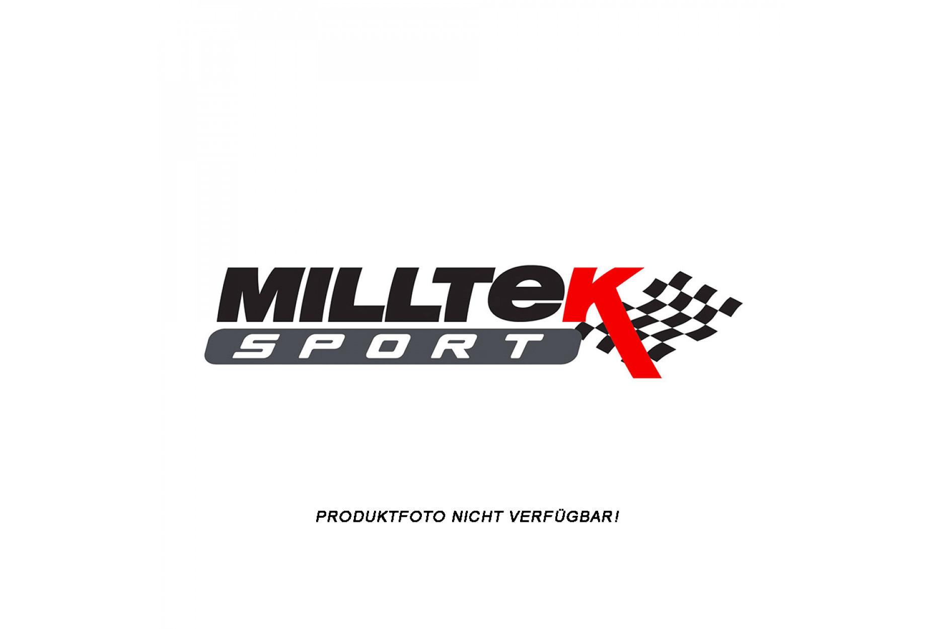 Milltek Auspuffanlage ab Turbo mit Sport Kat SSXVW255