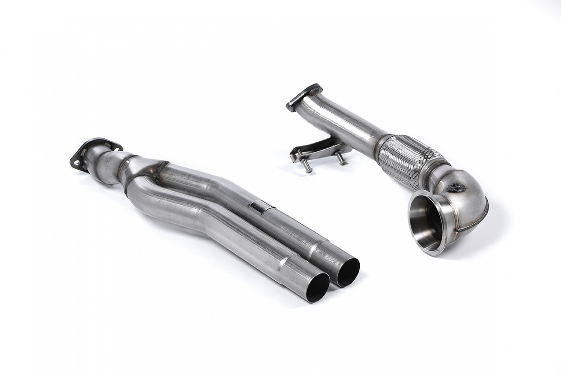Milltek Primary Catalyst Bypass Pipe and Turbo Elbow SSXAU593