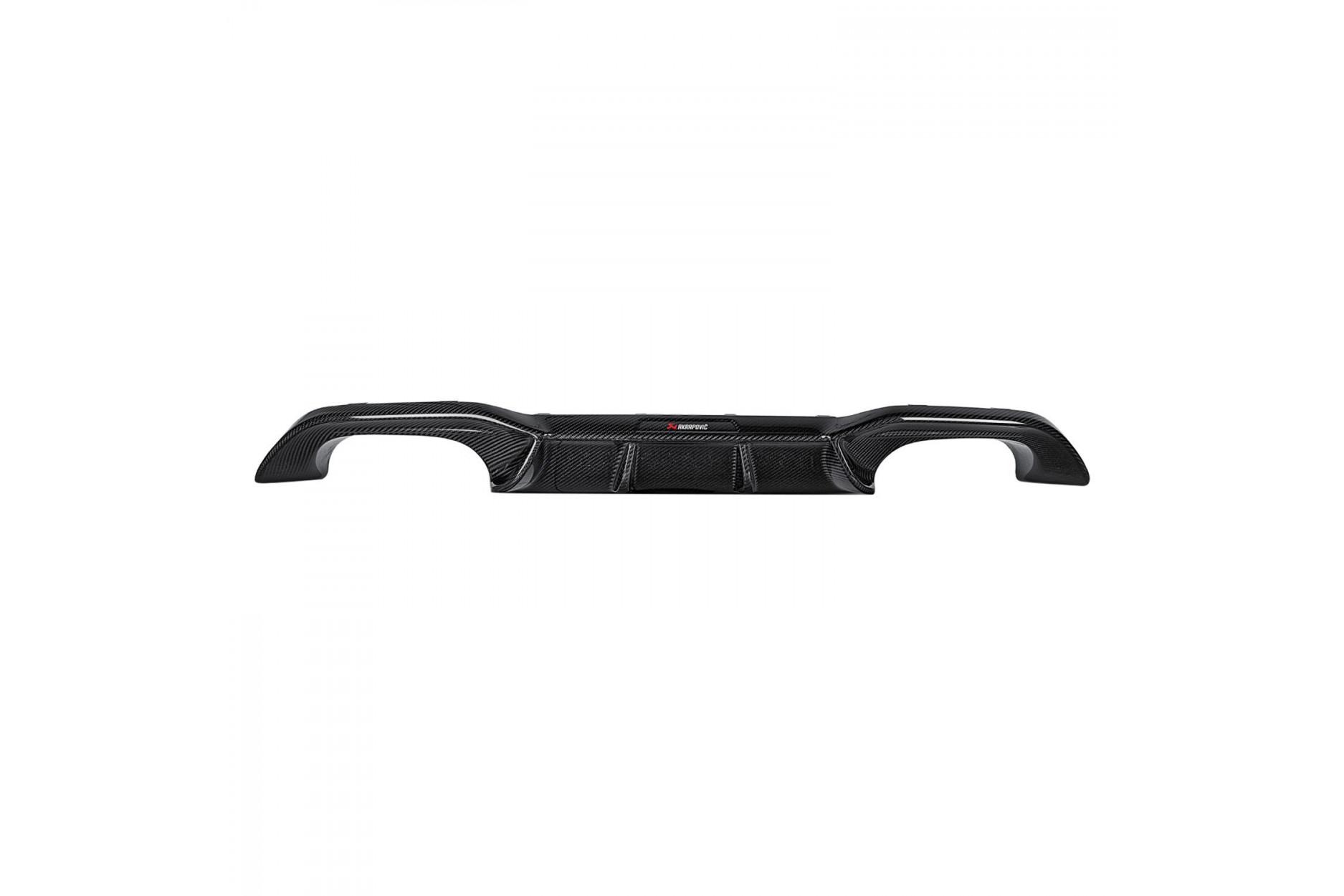 Akrapovic Rear Carbon Fiber - High Gloss Diffusor
