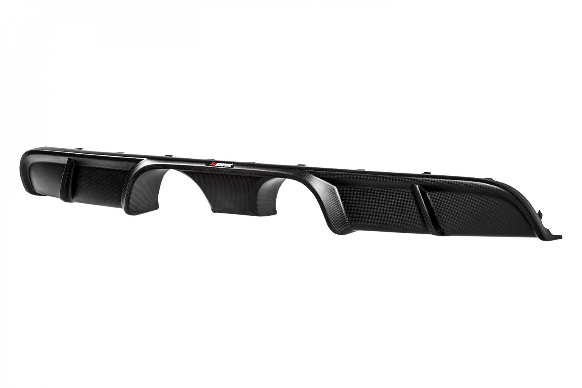 Akrapovic Rear Carbon Fiber - Matte Diffusor