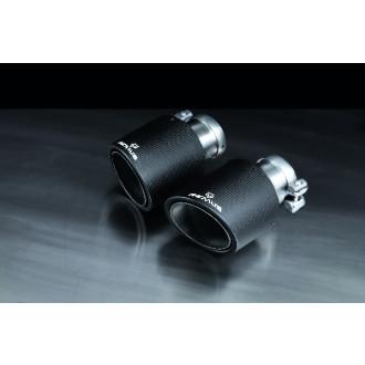 Remus 0046 70CSS Endrohr-Set 4 x Ø 102 mm Carbon/Titan s/s