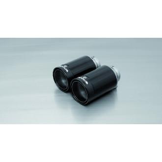 Remus 0026 98CB Endrohr-Set 2x Ø 98 mm, StreetRace Black Chrome