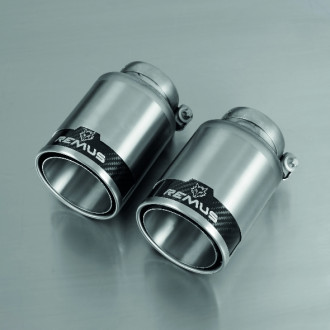 Remus 0027 98C Endrohr-Set 2 x Ø 98 mm StreetRace