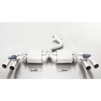 Remus 047015 1500 Sportschalldämpfer Links/Rechts-Anlage (ohne Endrohre)