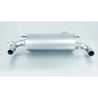 Remus 088015 1500 Sportschalldämpfer Li/Re mit integrierten Klappen
