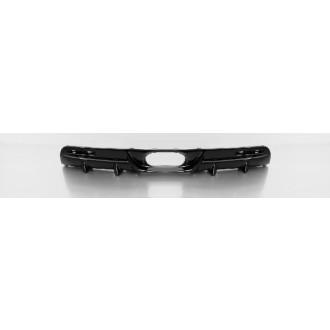 Remus 252301 HES Heckschürzeneinsatz mittig, Mat.ABS, schwarz glänzend