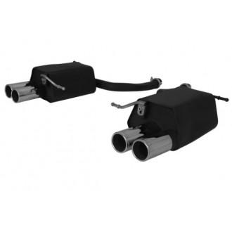 Remus 509111 0504R Sportschalldämpfer rechts mit 2 Endrohren Ø 76 mm