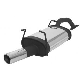 Remus Sportschalldämpfer mit 1 Endrohr 92x78 mm
