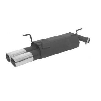 Remus Sportschalldämpfer mit 2 Endrohre 92x78 mm