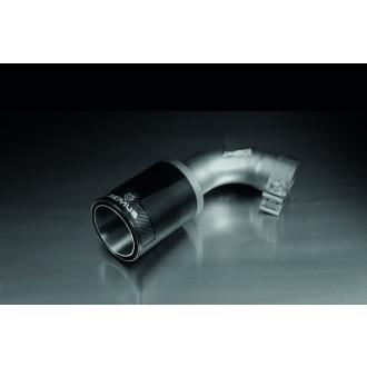 Remus 689109 1698CB Endrohr-Set, 2 Endrohre Ø 98 mm Street Race Black Chrome