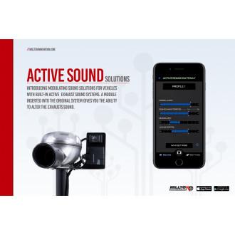 Milltek Active Sound Control SSXAU676