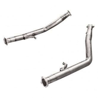 Akrapovic Downpipe Set w/o Cat (SS) Downpipe