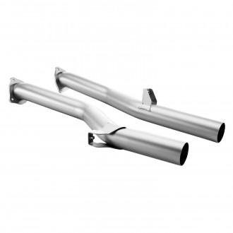 Akrapovic Front link pipe set (Titanium) Kat Ersatzrohr